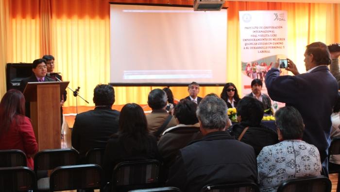 Imagen de la presentación del proyecto