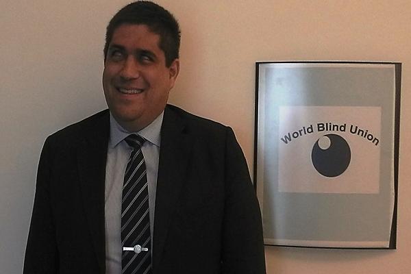 José Viera, nuevo Director Ejecutivo de la Unión Mundial de Ciegos