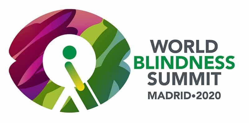 Logo de la Cumbre Mundial de la Ceguera