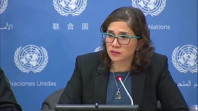 Imagen de la relatora de ONU sobre los derechos de las personas con discapacidad, Carolina Devandas