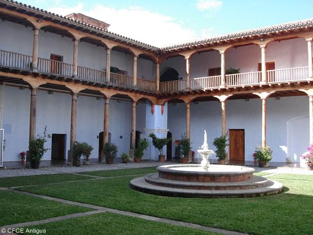 Imagen del Centro de Formación de la Cooperación española en La Antigua, Guatemala