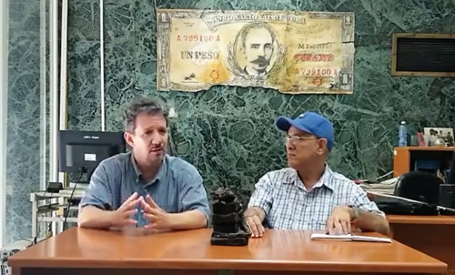 Ernesto Fernández, entrevistado por Joaquín Borges-Triana