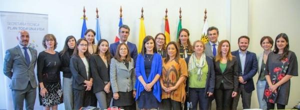 Imagen de los expertos de los siete países que conforman el Programa