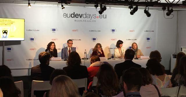 Imagen del panel del Lab Debate celebrado en Bruselas el 5 de junio