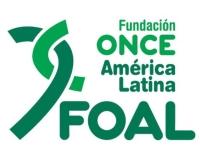 Logotipo de la Fundación ONCE América Latina (FOAL)