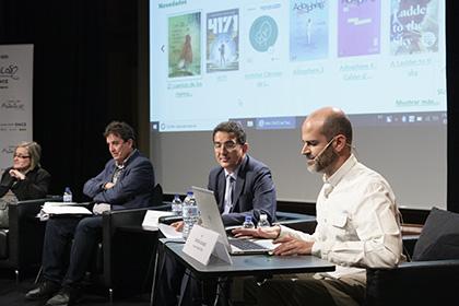 Imagen del acto celebrado en el Instituto Cervantes