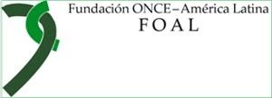Logotipo de Fundación Once-América Latina FOAL