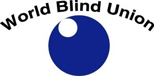 Logotipo de World Blind Union, Unión Mundial de Ciegos