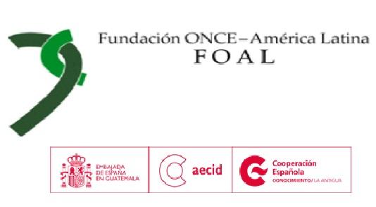 Logos Foal, Embajada de España en Guatemala, Aecid y Cooperación española conocimiento la antigua