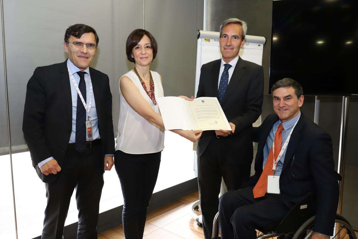 Ilunion recibe el premio 'Iberoamérica Incluye' de la mano de OISS