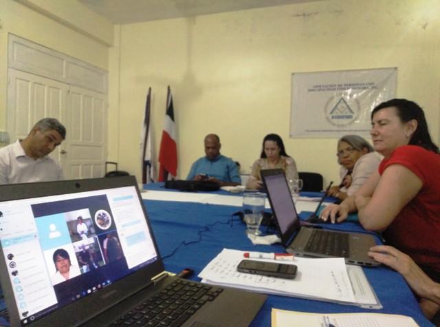 Imagen de la reunión de arranque del proyecto, con representantes de todas las organizaciones implicadas