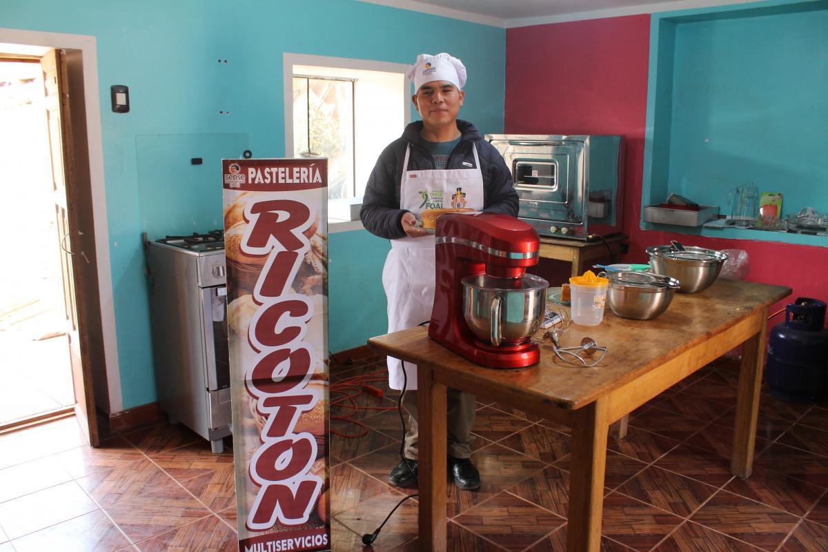 Imagen de la Pastelería Ricotón, en Cuzco