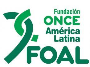 Logotipo de la Fundación ONCE América Latina