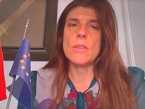 La secretaria de Estado de Cooperación Internacional, Ángeles Moreno Bau