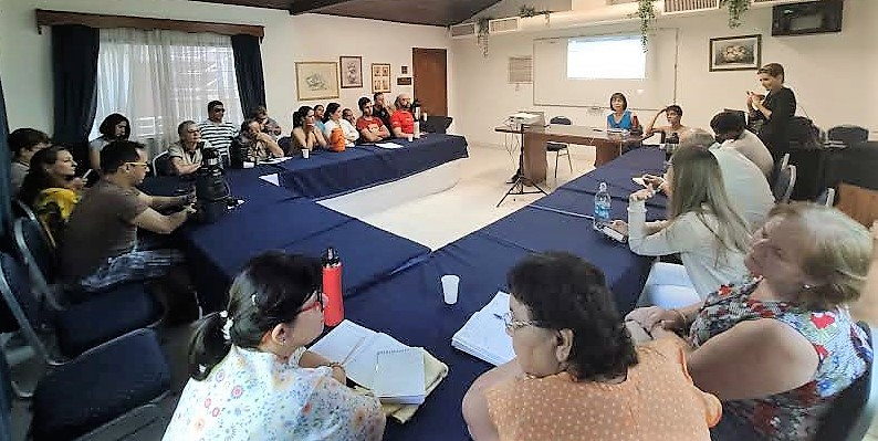 Imagen del taller de la Sociedad Civil paraguaya