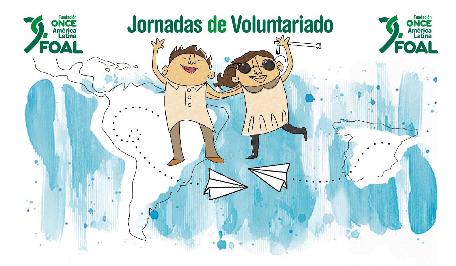 Cartel de las Jornadas de Voluntariado de FOAL